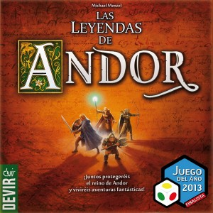 Las leyendas de Andor - Finalista JdA 2013